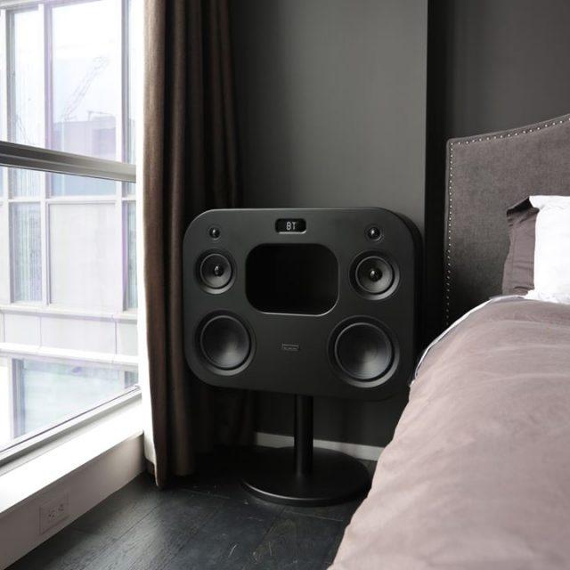 Part music system part art piece part furniture The Fluancehellip