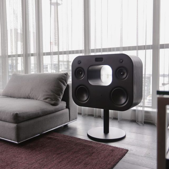 Powerful integrated amplifier and six speaker configuration including dual 8hellip