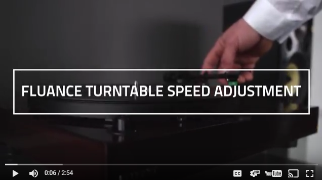 How to Adjust the Speed of Your Fluance Turntable