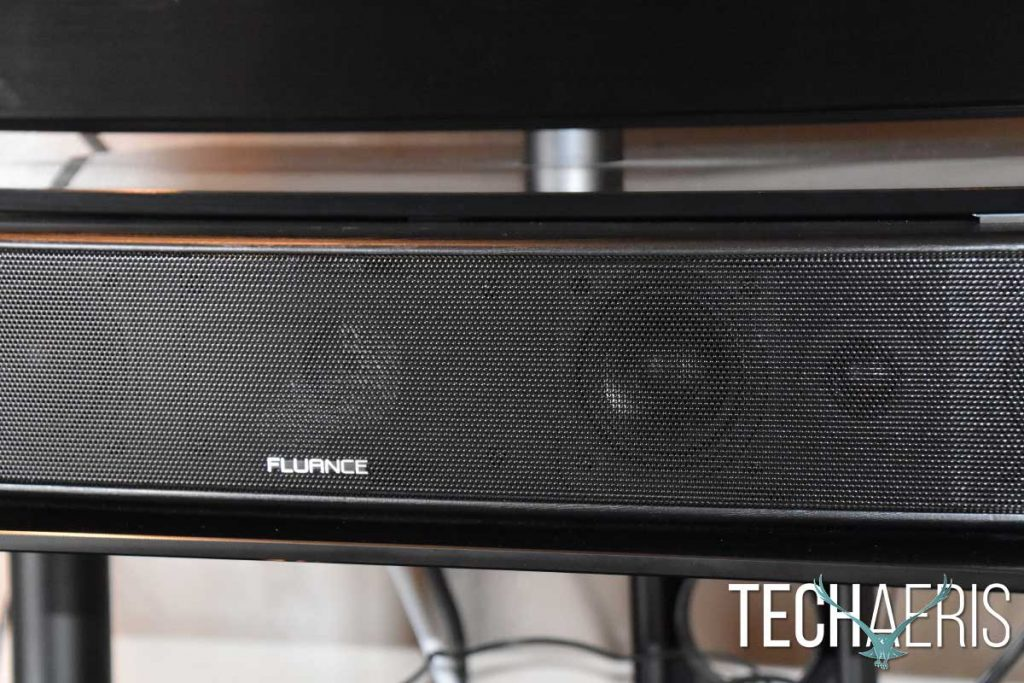 Beyond Your Average Soundbar: Techaeris Reviews the Fluance AB40 Soundbase
