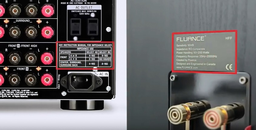How to match your Receiver or Amplifier Wattage and Impedance to Fluance Speakers