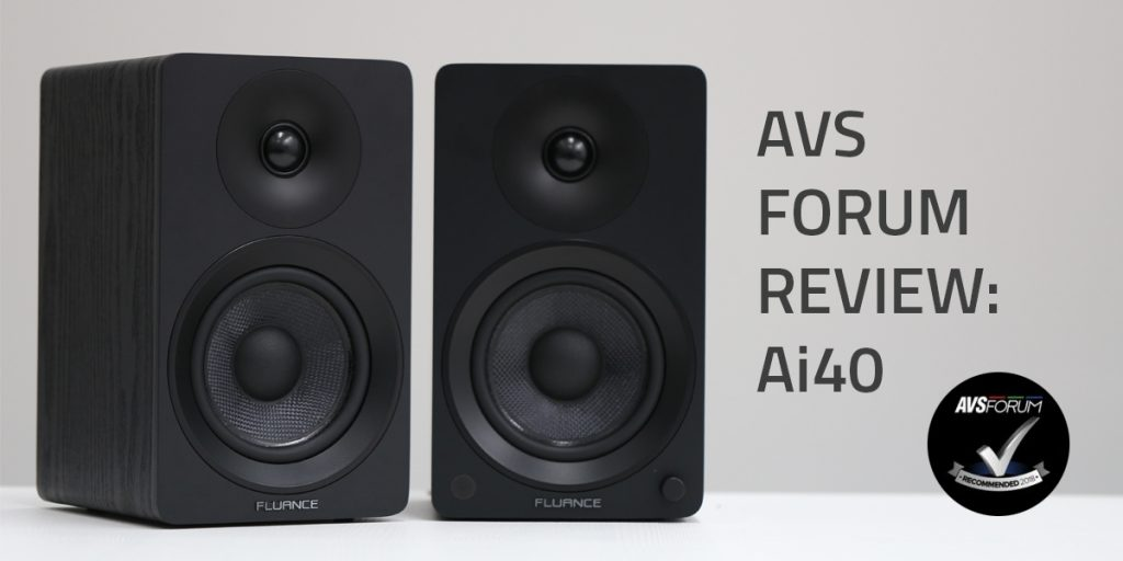 AVS Forum Reviews the Fluance Ai40 Powered Bookshelf Speakers