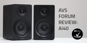 AVS Forum Reviews the Fluance Ai40 Powered Bookshelf Speakers