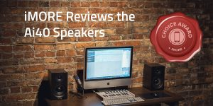Ai40 Powered Bookshelf Speaker Review by iMore