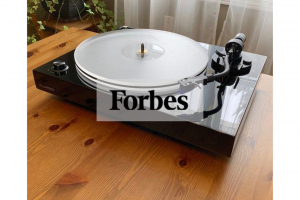 Brad Moon of Forbes Reviews the RT85 Turntable