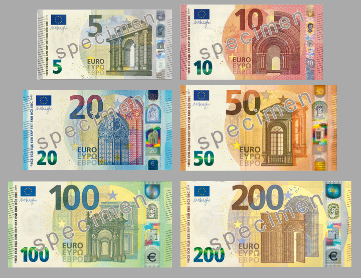 The Euro is introduced as a currency