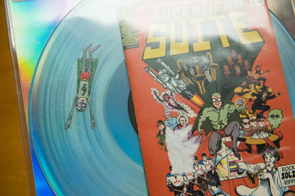 Special effect vinyl record