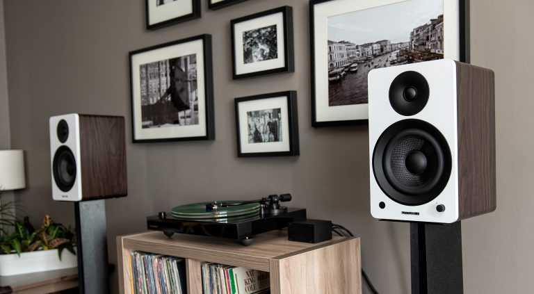 Fluance Powered Bookshelf Speakers