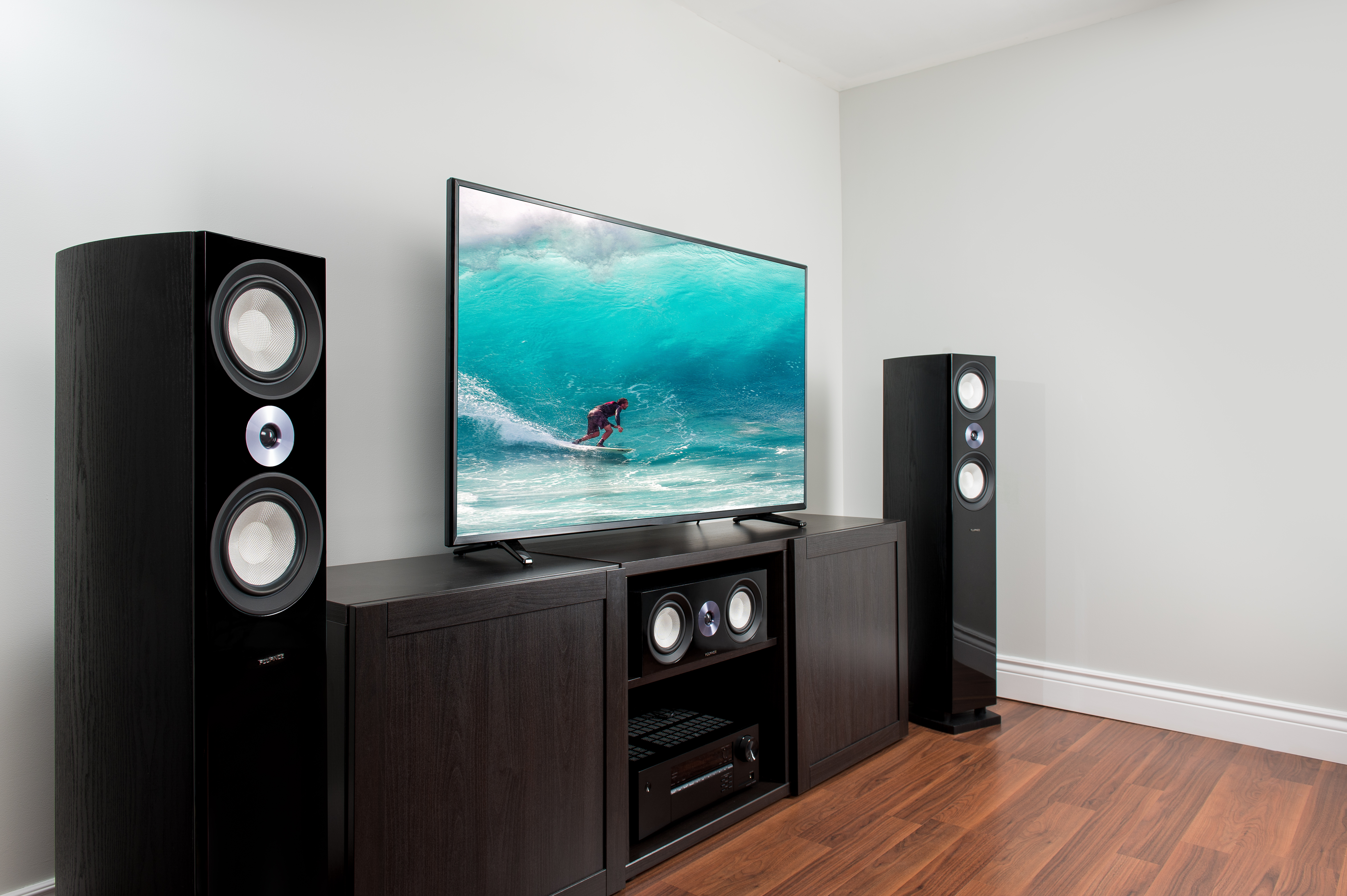 Fluance XL8 Reference Series Speakers with Tower Speakers and Center Channel